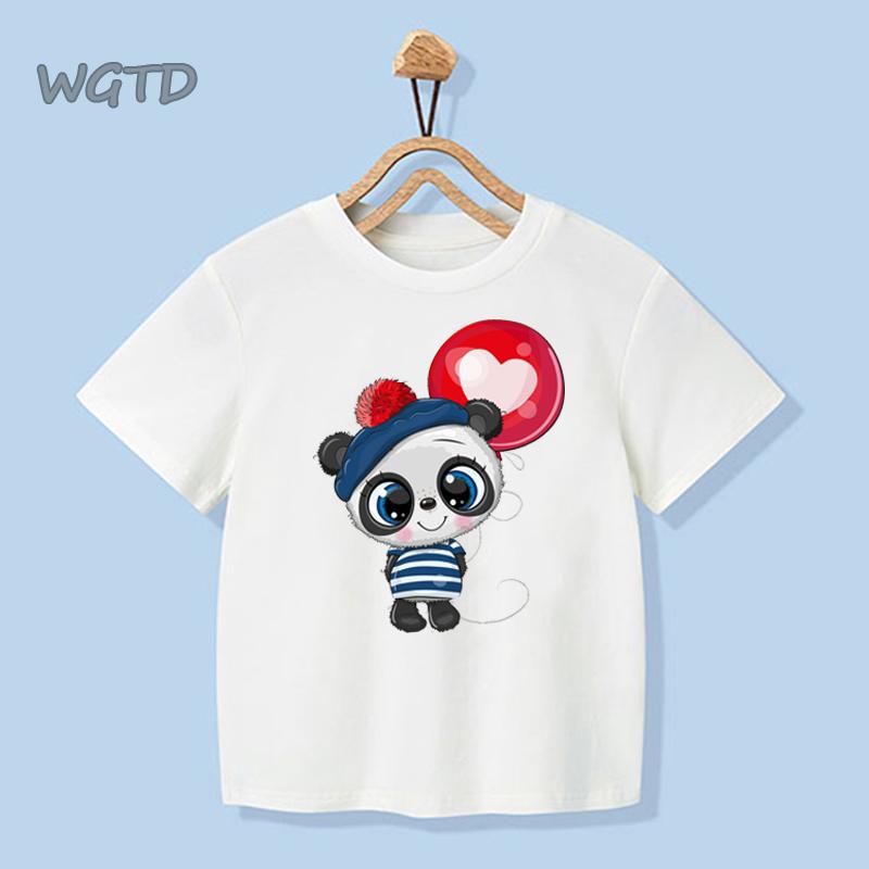 Bang Tidy Clothing Kids Graphic T Shirt Boys Top Panda Cub Youth Tee Shirt