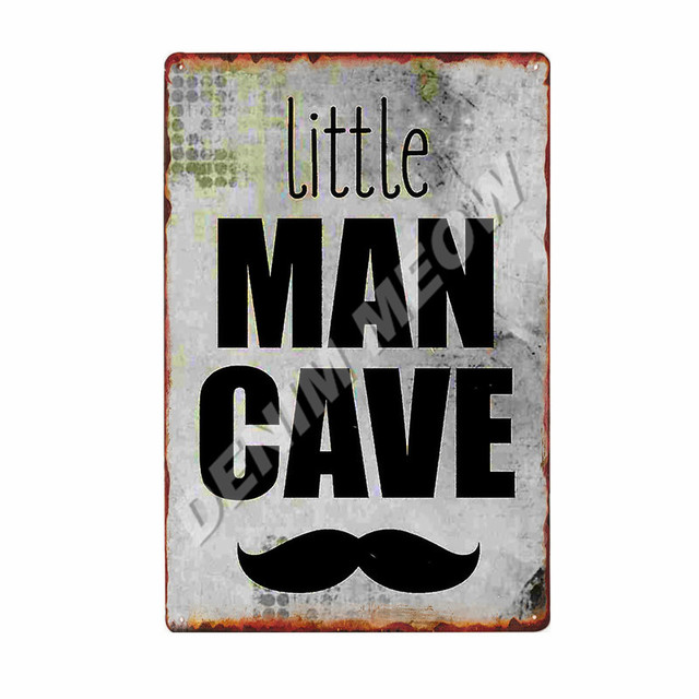 Man Cave Vintage Metal Plates 6