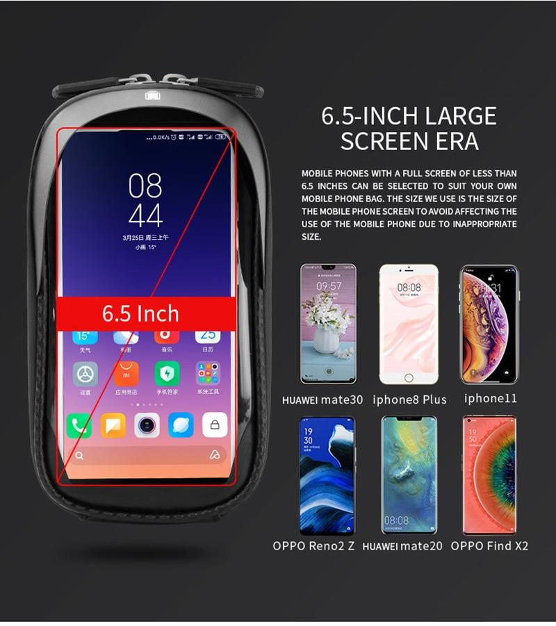 chuva, tpu touch screen, suporte para celular,