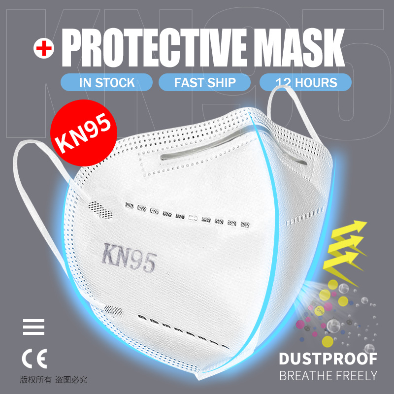 LOCAL WAREHOUSE DELIVERY! 5 LAYERS Protective Face Mask FFP2 Mask KN95 Masks CE Mascarilla 95% Filtration Mouth Mask Anti flu|Masks|   - AliExpress
