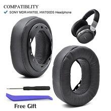 Defean เปลี่ยนแผ่นรองหูฟัง Earmuffs สำหรับ Sony MDR HW700 MDR HW700DS หูฟังไร้สาย