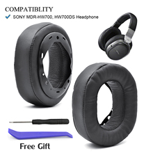 Defean Replacement Ear pads Cushion earmuffs for Sony MDR HW700 MDR HW700DS Wireless Headphones