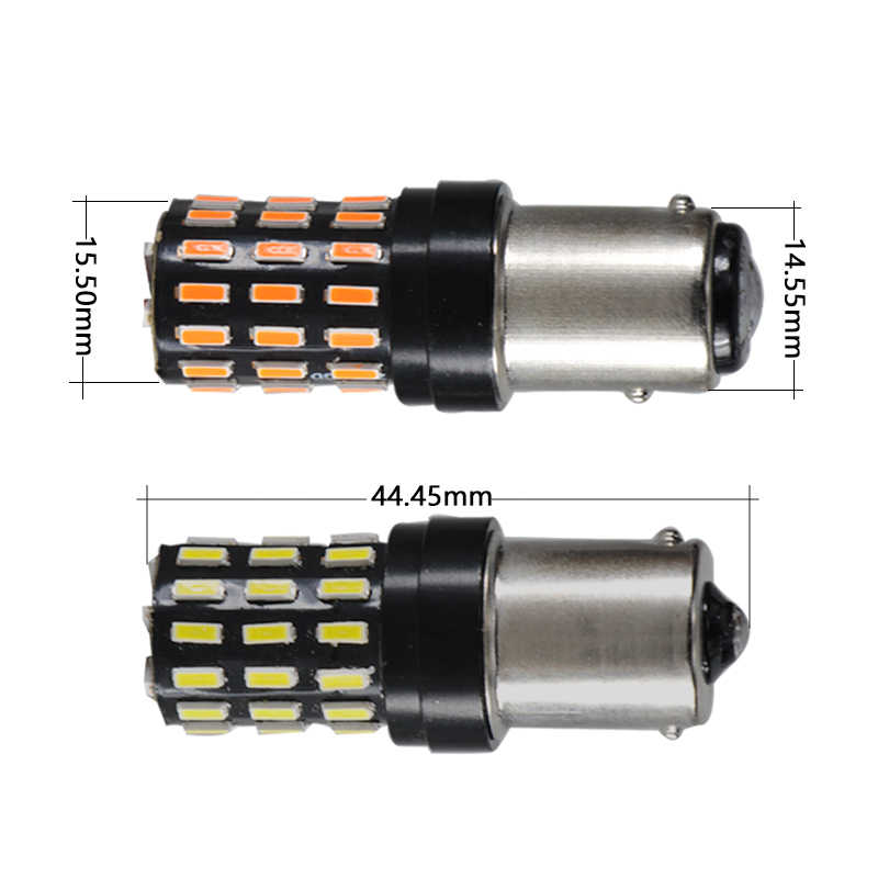P21W BA15S 1156 py21w BAY15D 1157 led car auto track light 12v 24v 5W super red white Canbus Reverse Signal DRL lamp camry 2018