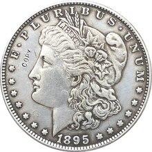 1895 сша Морган долларовые монеты КОПИЯ