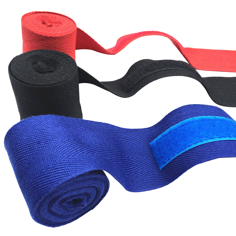 2.5m Athletic Stretch First Aid Sports Wrap Boxing Bandage Hand Protection Professional Sweat Absorption Flexible Tape Elastic