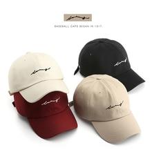 Baseball-Cap Hats Snapback Cap Gorras Embroidery SLECKTON Cotton Unisex Fashion Women
