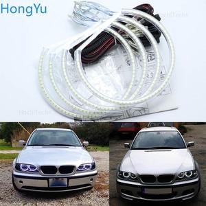 Image 1 - Kit de luces led para coche, iluminación excelente Ultra brillante smd, Ojos de Ángel, anillo halo, para BMW E46, sedan touring
