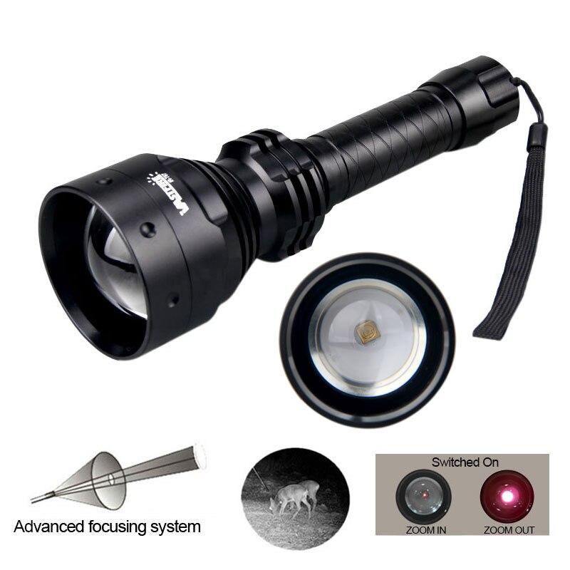 Tático 850nm ir visão noturna iluminador 800