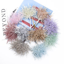10/30 Pieces MINI Multicolor branches christmas tree wedding decorative flowers wreaths vases for home decor artificial plants(China)