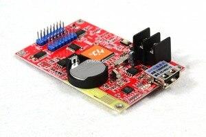 Image 3 - Бесплатная доставка, компактная графическая Беспроводная светодиодная смарт карта управления Hub75B с Wi Fi