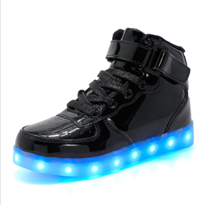 Image 3 - Size 35 44 Mens&Womens Sneakers Luminous Led Shoes with Luminous Sole Light Glowing Sneakers Light Up Shoes Led Slippers