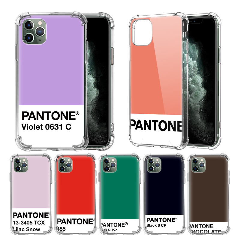 Caliente Pantone Customer Case For Apple iPhone 11 Pro XR X XS Max 8 7 6
