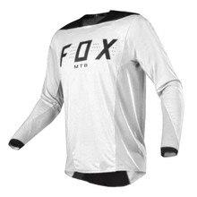 Maillot de cyclisme pour hommes, vêtement de course, de Motocross, FOXMTB, Mountain MX, vtt, 2020