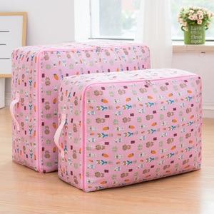 Image 3 - Oxford Cloth Quilt Storage Bag Luggage Storage Quilt Organizer Finishing Bag Travel Organizer Pouch