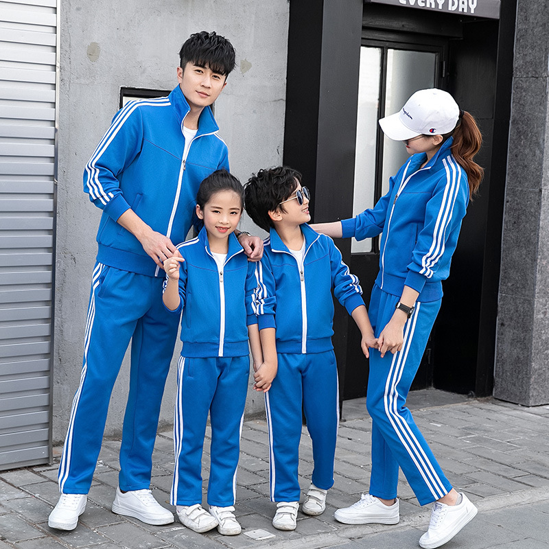 Taekwondo Martial Arts Wear Groups Uniform Spring And Autumn Couples Sports Set Sports Clothing School Business Attire