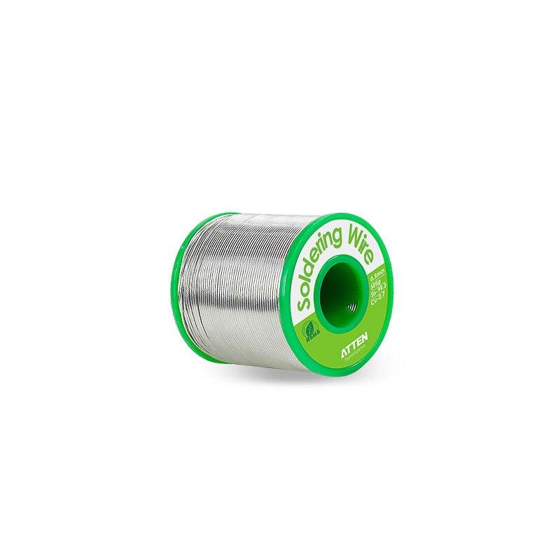 ATTEN 500g Lead-free solder soldering wire sn99 3percent cu0 7percent  Diameter 0 5 0 8 1 0mm