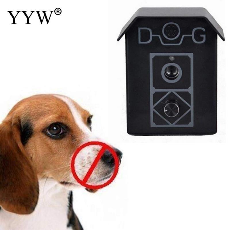 High Quality Dog Ultrasonic Anti Barking Device Dogs Bark Stop Pet Control Training