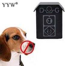 High Quality Dog Ultrasonic Anti Barking Device Dogs Bark Ultrasonic Stop Device Pet Bark Control Ultrasonic Training Device ultrasonic audible control no bark collar stop barking dog training device
