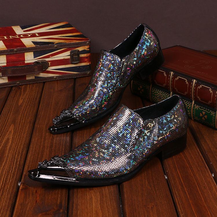 Details about  /Mens Dress Formal Business Leisure Shoes Pointy Toe Nightlcub Party Lace up 44 L