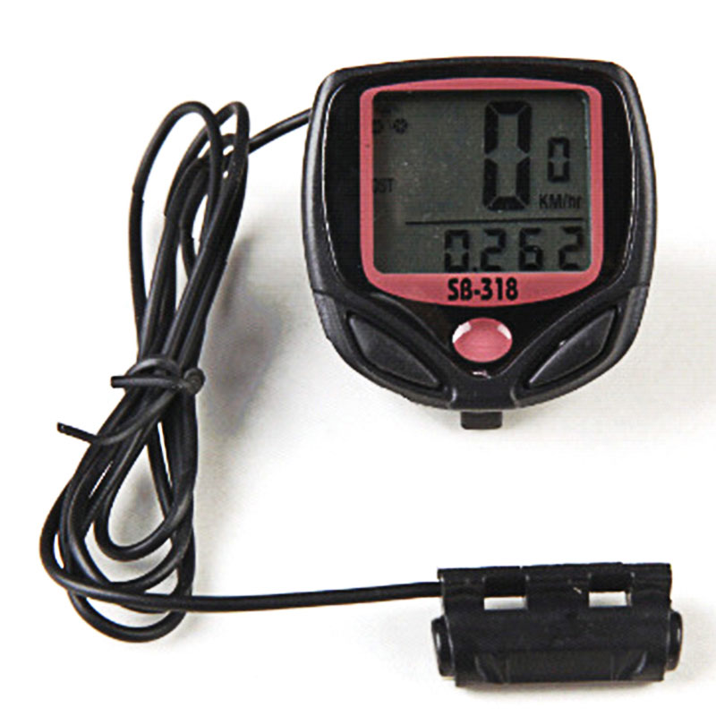 Waterproof LCD Bike Computer Bicycle Speedometer Odometer Peed Meter Cyclopometer Inbike Cycling Speed Computer in Bicycle Computer from Sports Entertainment