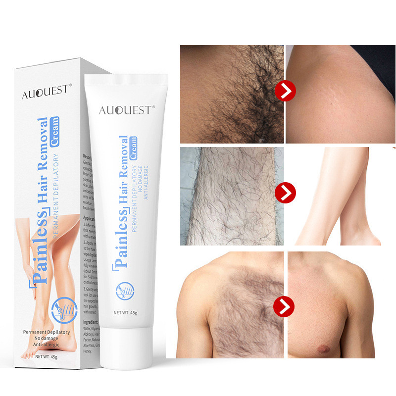 2020 Painless Hair Removal Cream For Chest Legs Arms Effective Uprooted Depilation Body Skin Lightening Smooth Care Tool TSLM1
