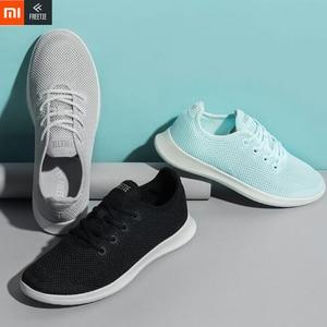 Image 2 - Xiaomi FREETIE Leisure รองเท้าผู้ชาย/ผู้หญิงที่มีน้ำหนักเบารองเท้า Breathable สดชื่น City รองเท้าวิ่งรองเท้าผ้าใบสำหรับกีฬากลางแจ้ง