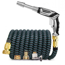 Expandable Watering-Pipe Garden-Hose Car-Wash Nozzle Magic Flexible High-Pressure Home