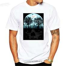 Urban Life Cycle T Shirt skull cities trees nature park silhouette T shirt