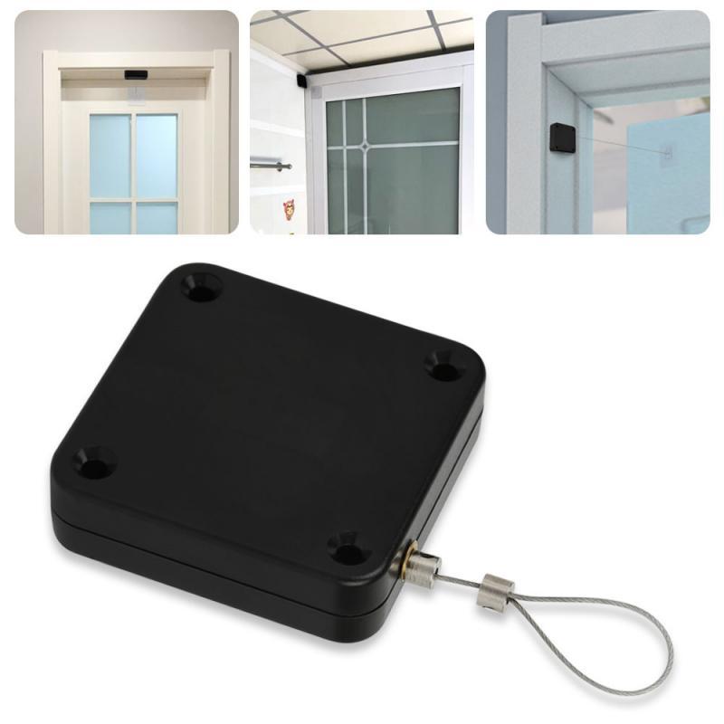Punch Free Sliding Door Automatic Door Closer Home Improvement Multifunctional Automatic Door Closer Closer Automatic Sensor|Door Closers| - AliExpress