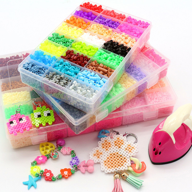 Fighting Beanie Set Fusion Soft Bean 5mm 2.6mm Soft Bean DIY Manual Puzzle Jigsaw Puzzle Bean Children Christmas Gift Kids Toys