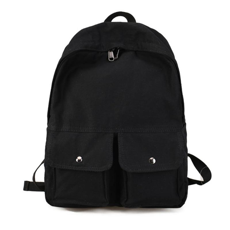 Canvas Backpack Female Leisure Backpacks Cute Girls School Bags Portable Women Backpack Book Bag Knapsack