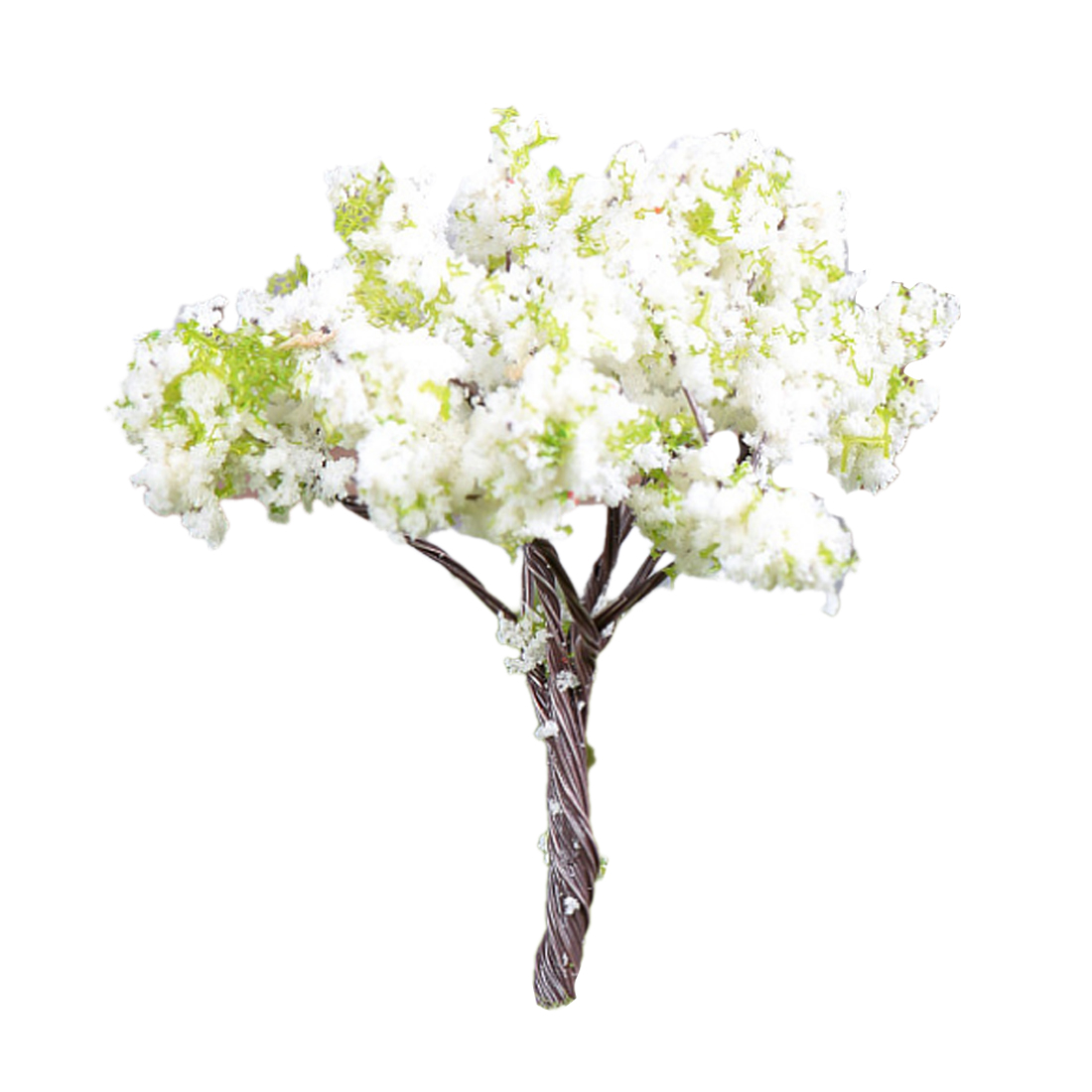 20/50/100 Pcs 6.9cm HO 1:85 Scale Pear Tree Model Railroad Architecture Diorama Tree For DIY Scenery Landscape