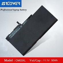 SKOWER CM03XL Battery For HP EliteBook 840 850 G1 G2 Zbook 14 G2 717376-001 50Wh (Free Shipping) kingsener cm03xl battery for hp elitebook 840 845 850 740 745 750 g1 g2 series hstnn db4q hstnn ib4r lb4r e7u24aa 716724 171