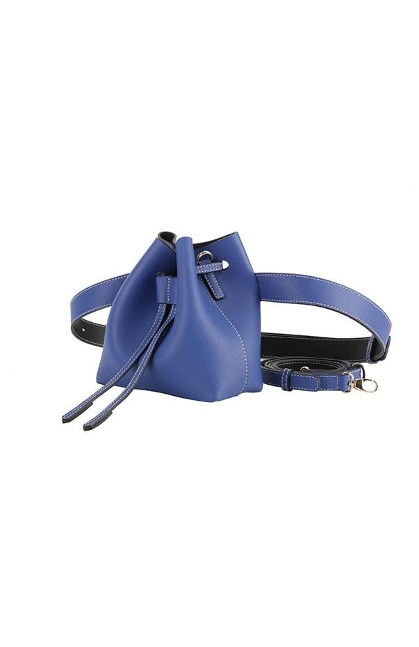 New Design Split Leather Samll Belt Bag Waist Packs For Women