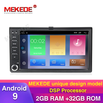 2GB+32GB DSP android 9 Car gps navigation multimedia player for Kia CEED Cerato Carens Carnival Lotze Morning Rio Optima radio