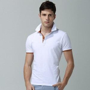 Image 2 - Men Polo Shirt Summer Deer Print Short Sleeve Polos Fashion Streetwear Plus Size Tops Men Cotton Sports Casual Golf Shirts