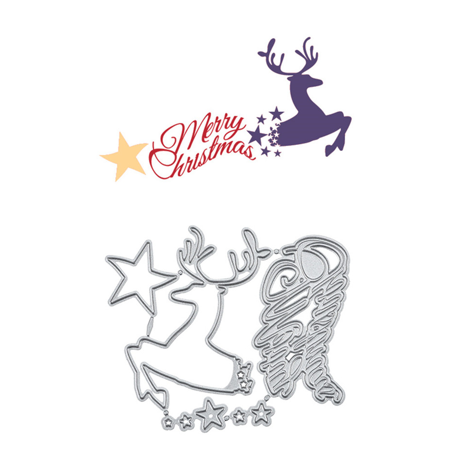 YaMinSanNiO Metal <font><b>Cutting</b></font> <font><b>Dies</b></font> New <font><b>2019</b></font> <font><b>Christmas</b></font> Scrapbooking Album <font><b>Die</b></font> Cut Embossing Stencil Decor <font><b>Dies</b></font> <font><b>stamps</b></font> <font><b>and</b></font> <font><b>dies</b></font> image