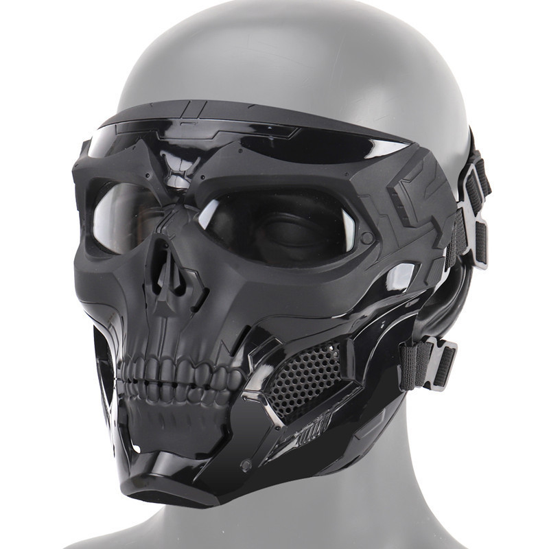 New Paintball Mask Tactical Team Skull Helmet Quick Adjustment Game Juicy Flash Bomb Army Tracking Aircraft Military Helmet Mask