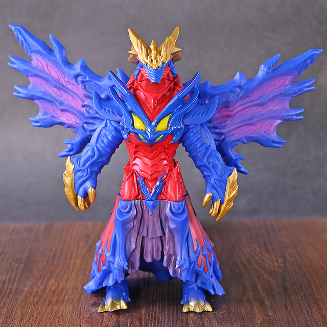 Ruebu Ultraman R/B Kaiju Boss Reugosite PVC Action Figure Figurine Model Toy