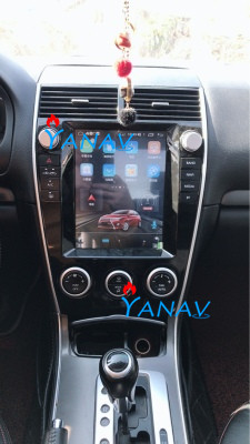10.4 inch Tesla style Android 9.0 car <font><b>GPS</b></font> <font><b>navigation</b></font> For-<font><b>Mazda</b></font> <font><b>6</b></font>/Mazda6 2004-2015 Car Radio Stereo multimedia player DVD player image