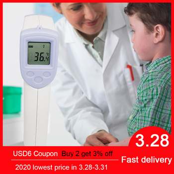 Baby Adult Electronic Digital Non-Contact Infrared Thermometer Ear Temperature Gun One Second Read Forehead Measurement