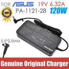 الأصلي 19V 6.32A ل ASUS كمبيوتر محمول امدادات الطاقة AC محول شاحن FX50J ZX50JX A550J FX63VD W50J G58JVG fxj4200 PA-1121-28
