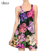 Flower Violet Sexy Women Dresses 3D Print Pleated Dress Casual Tight Ladies Dresses Colorful Small Floral Flowers Party Dress sun flower print pleated dress