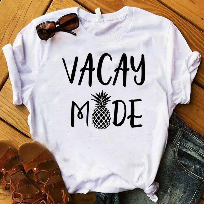 Camiseta de frutas de abacaxi moda feminina engraçado melancia camiseta de topo gráfico t camisa feminina camisetas femininas topos