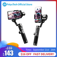 FeiyuTech Feiyu SPG2 3-Axis Handheld Stabilizer Gimbal with Follow Focus for Smartphone iphone X 8 7 OPPO Samsung Note 8 ViVO