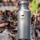 550 мл портативная уличная бутылка для воды велосипедный Велосипед Велоспорт Спортивная чашка для воды чайник титановая бутылка 18,8 унций