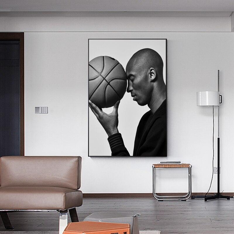 NBA баскетбольная звезда Плакат холст искусство современный художник домашний настенный Декор Гостиная Спальня Цифровая роспись картина