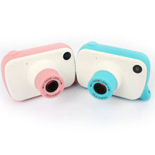 1500m Telescope Children Mini 8MP HD Digital Camera DV Camcorder with Filters Lens Frame Photography for Kids Toys Gift