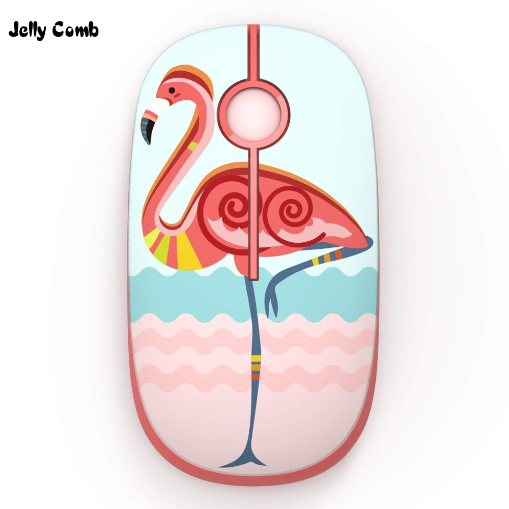 Jelly Comb Silent Wireless Mouse 1600DPI Noiseless Button Optical Mice Computer Mouse For Laptop Notebook 2.4G Wireless Mause