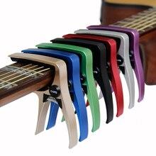 Guitar Capo for acoustic and electric guitars  Total aluminium material Guitar Accessories